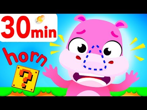 Where Is My Rhino Horn? Have You Seen My Horn? H Is For Horn, Learn ABC! By Little Angel
