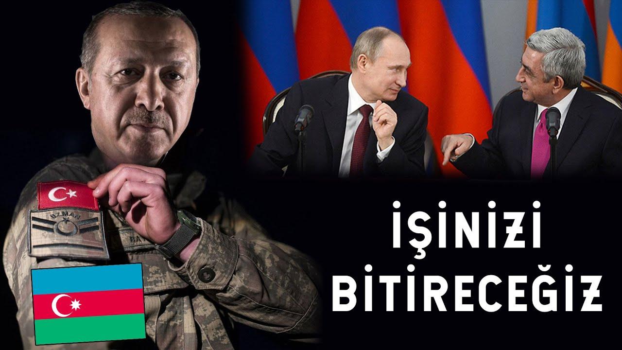 Ermenistan ve Rusya Hayatının Hatasını Yaptı! Azerbaycan ve Türkiye Geliyor!