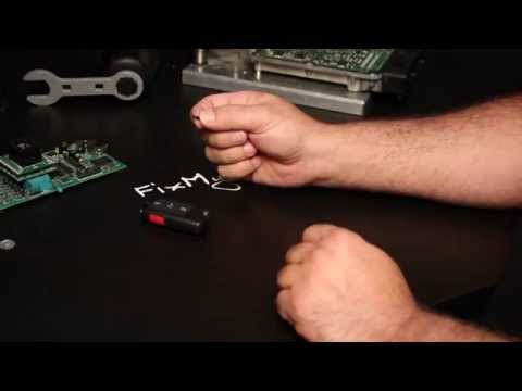 DIY - How to replace / swap an immobilizer RFID Chip in a VW Key FOB