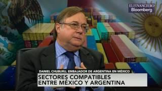 Crisis de Trump, presenta oportunidad de Argentina para ampliar relación comercial con México