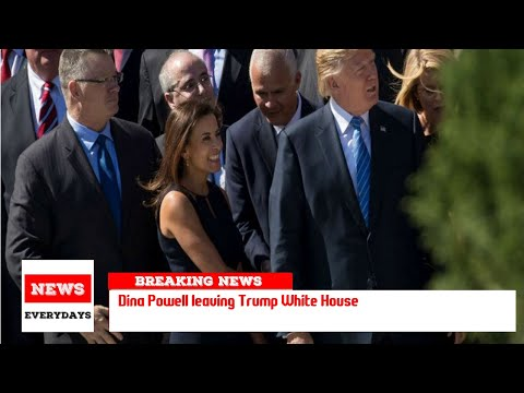 Dina Powell leaving Trump White House