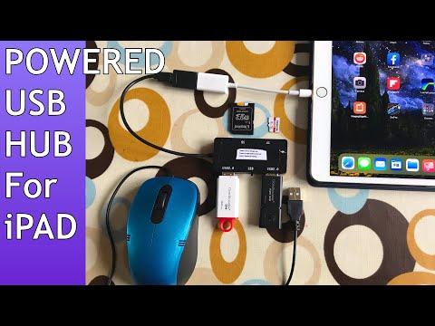 IPad. Powered USB HUB / Docking Station For Lightning Devices