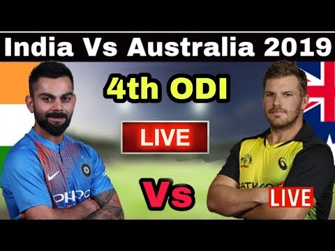 India Vs Australia 4th ODI Match 2019 Live Streaming