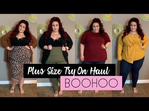 Plus Size Try On Haul - BooHoo Plus