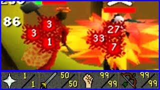 Fire Surge PKing at 68cb (Powerful PKing Build)
