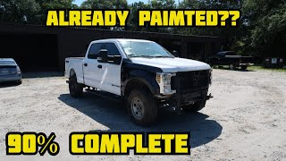 Rebuilding A Wrecked 2018 Ford F-250 Part 4