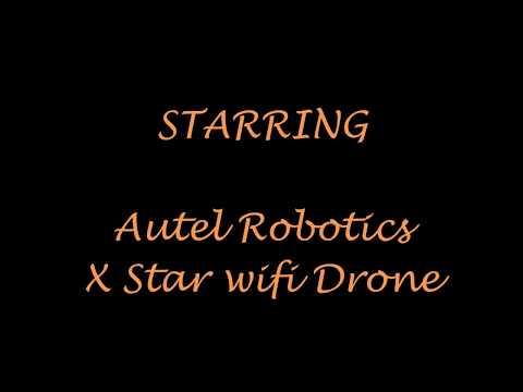 Beginner flying an Autel Robotics X star wifi edition Drone