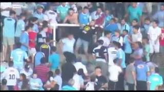 فيديو.. مقتل مشجع بعد إلقائه من المدرجات فى ديربي الأرجنتين