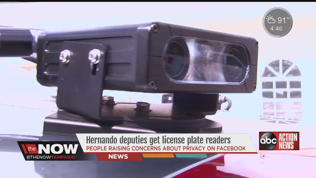 Hernando County Sheriff's Office defends its license plate readers