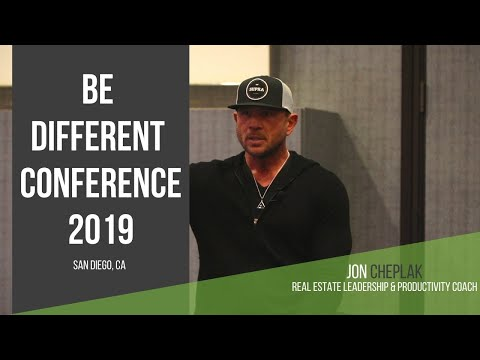 Jon Cheplak Speaks At The Be Different Conference 2019 In San Diego