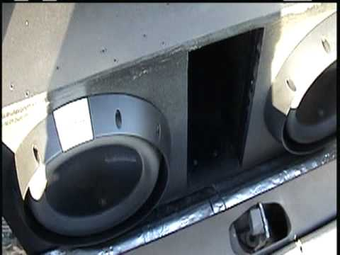 Rockford Fosgate 2 T2 12 Subs Amp T Bdcp Watts
