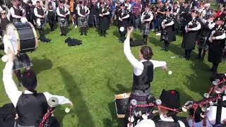 // ScottishPower Pipe Band // Monsters