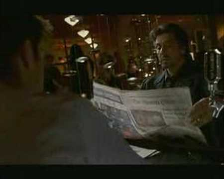 Al Pacino Torn and Restored Newspaper