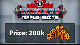 ALMOST THREW IT AWAY! $200,000 Match 1v1 Miniclip 8 Ball Pool, Toronto Suite