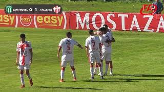 FATV 19/20 Fecha 7 - Torneo Apertura - San Miguel 1 - Talleres 2