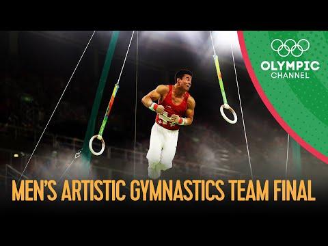 Artistic Gymnastics Men's Team Final - Full Replay   Rio 2016 Replays