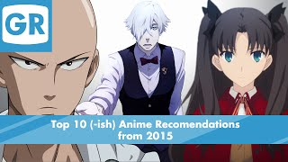 Top 10 Anime Recommendations from 2015
