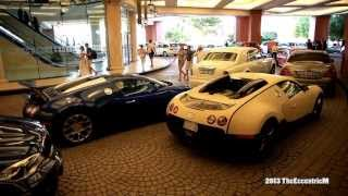 Eid week car spotting in Dubai - 4 x Bugatti Veyrons, Porsche Carrera GT and more!