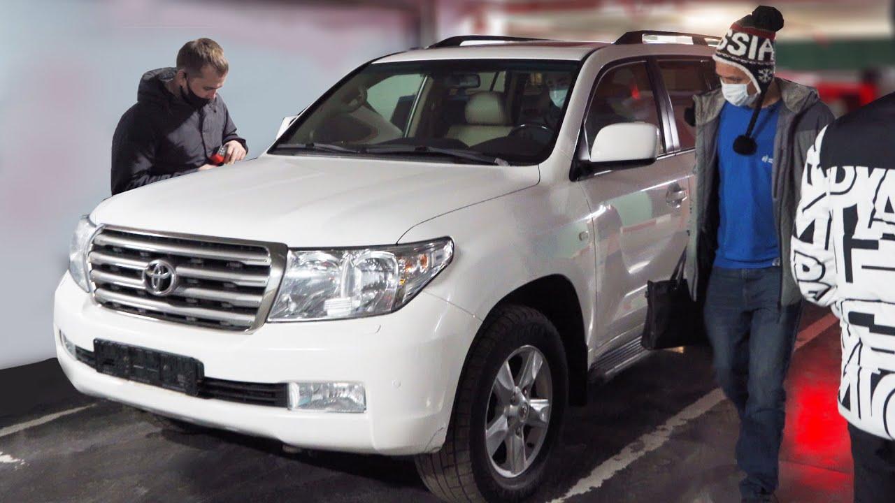 Подбор Toyota Land Cruiser 200. Странные владельцы и перекупы :(