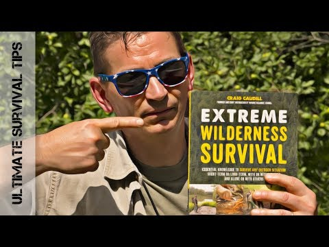 NEW!  SURVIVAL BOOK - Extreme Wilderness Survival - DOES it ROCK?