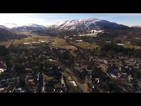 Braemar Scotland February 2016