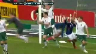 Thierry Henry Handball Ireland V France 1-1 (agg 1-2) Hand Of Frog /God 18/11/09  Best/Good Quality