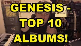 Genesis - Top 10 Albums