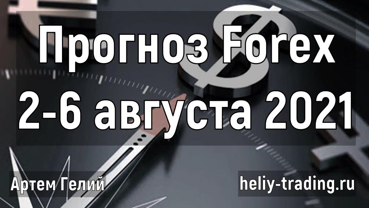 Прогноз форекс на неделю: 2 - 6 августа 2021