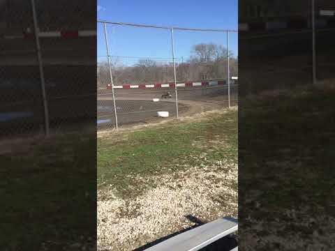 Peoria speedway sprint cars practice day