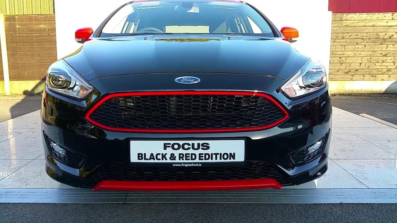 171dfocus Black 2017 Ford Focus And Red Edition 2 0 Tdci 150p