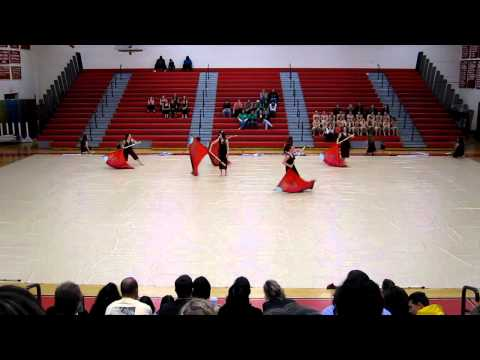 Amity High School Winterguard Musical Arts Conference Masuk High School
