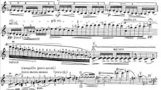 Walton, William mvt1(begin) violin concerto Andante tranquillo