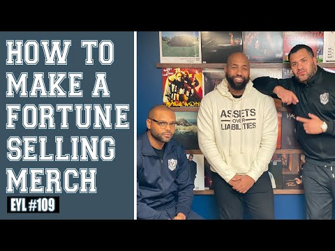 HOW TO MAKE A FORTUNE SELLING MERCH