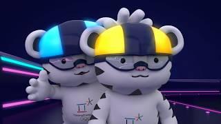 (KOR/ENG) 2018 평창 마스코트 무드등 홍보 영상   PyeongChang 2018 mascots-designed 'mood light'
