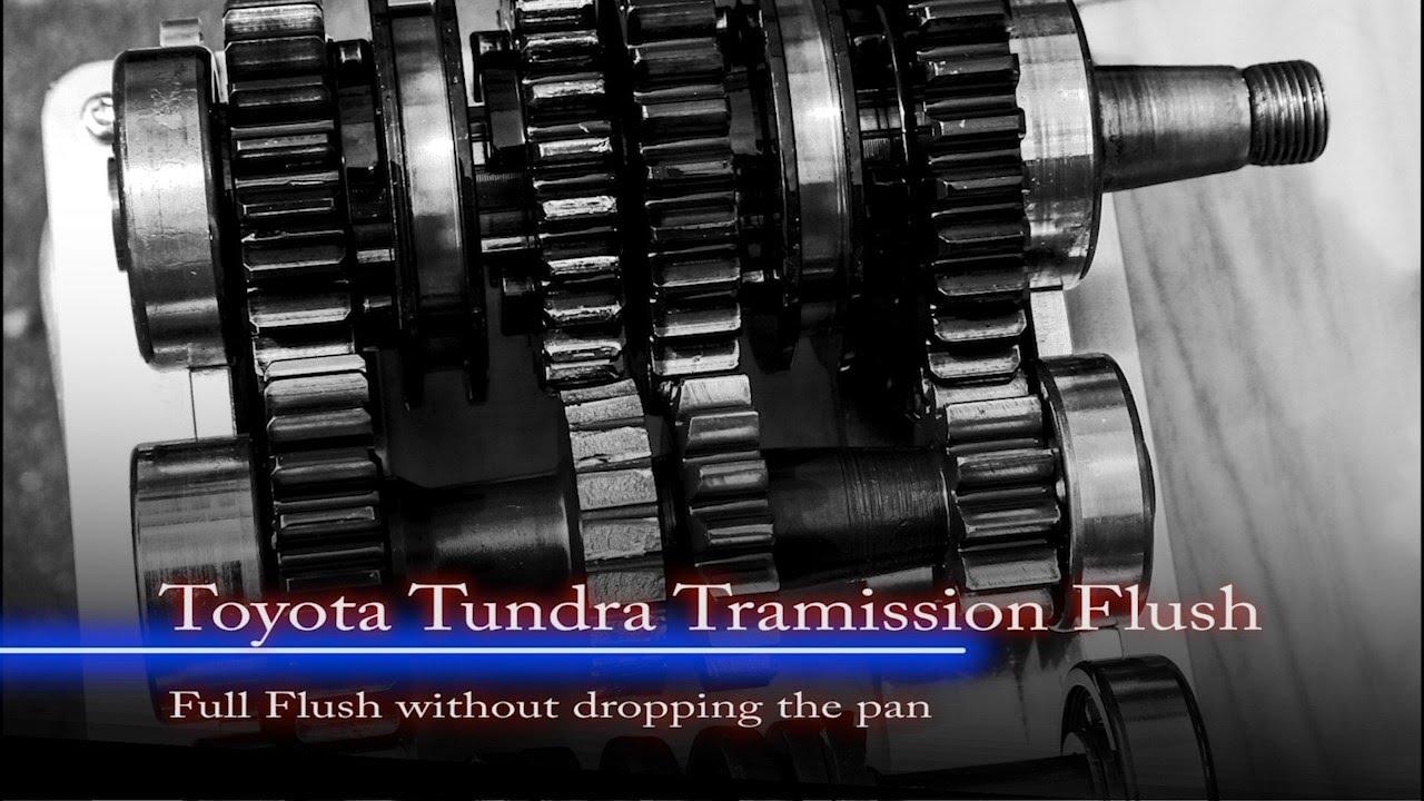 2004 tundra transmission fluid change