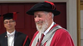 Professor Gordon Campbell - Honorary Degree - University of Leicester