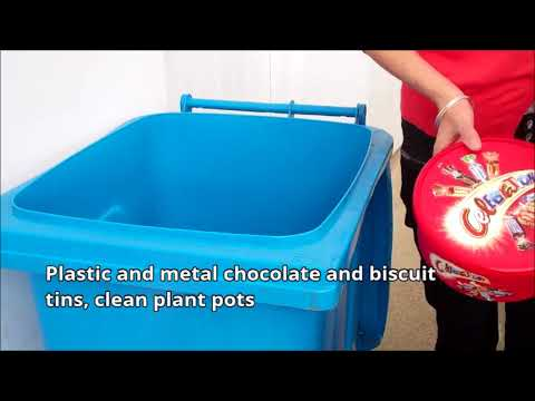 Chesterfield Borough Council - What to put in your blue bin