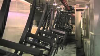 видео Производство столов