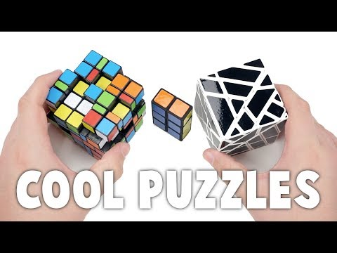 4x4 Ghost Cube, Shapeshifting 5x5, and 1x2x3 Unboxing!