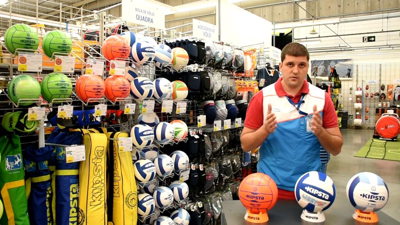 Como escolher a bola ideal Kipsta para o voleibol Indoor - Exclusividade  Decathlon 9159d33e11ef1