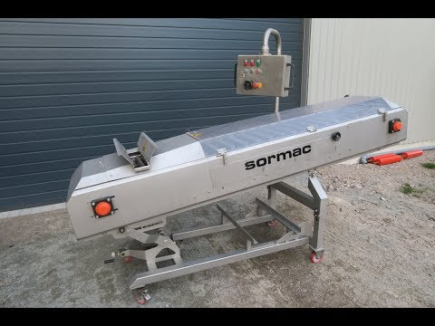 Sormac WOS Top and tail cutter machine for carrot