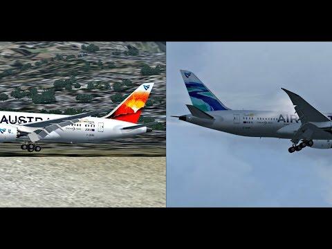 Air Austral Boeing 787-8 Dreamliners Landing @ (RUN) Saint Denis de la Reunion