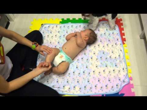 Массаж ребенку 3 месяца. Как я делаю массаж?