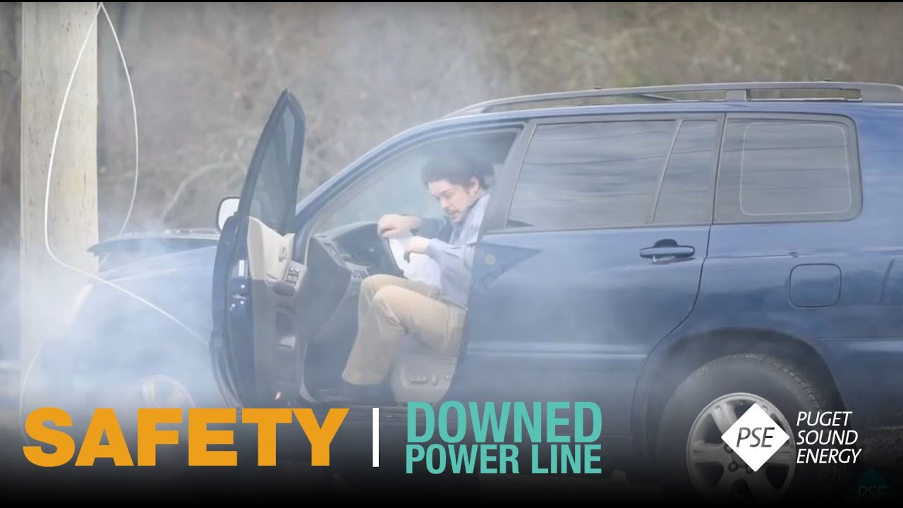 This Might Shock You: Downed Power Line - YouTube