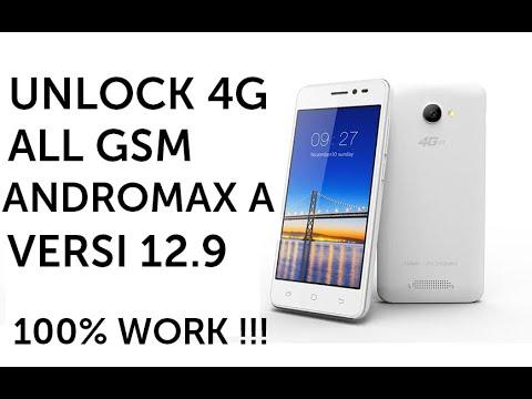 Cara root dan unlock 4G gsm Andromax A versi 12.9 dewa all GSM work !!!.