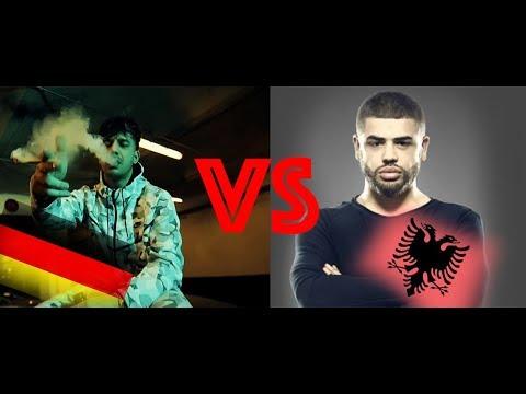 German vs Albanian Trap/Rap Music