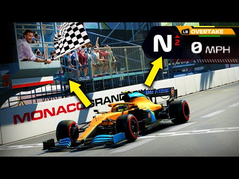 I WON a race without moving on the F1 2020 game! |