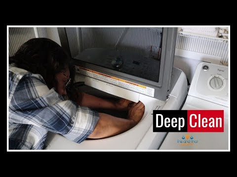 Clean with Me | How to Deep Clean Your Washing Machine