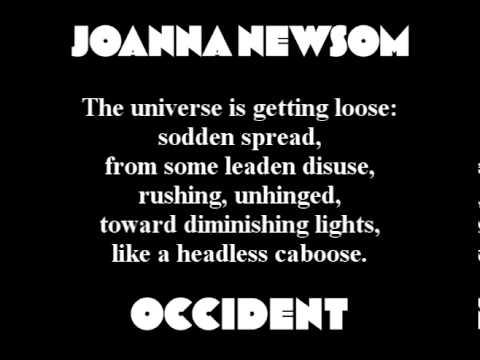 Joanna Newsom - Occident (with lyrics)