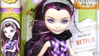Raven Queen - Enchanted Picnic - Ever After High - Mattel - CLL49 CLD84 - Review
